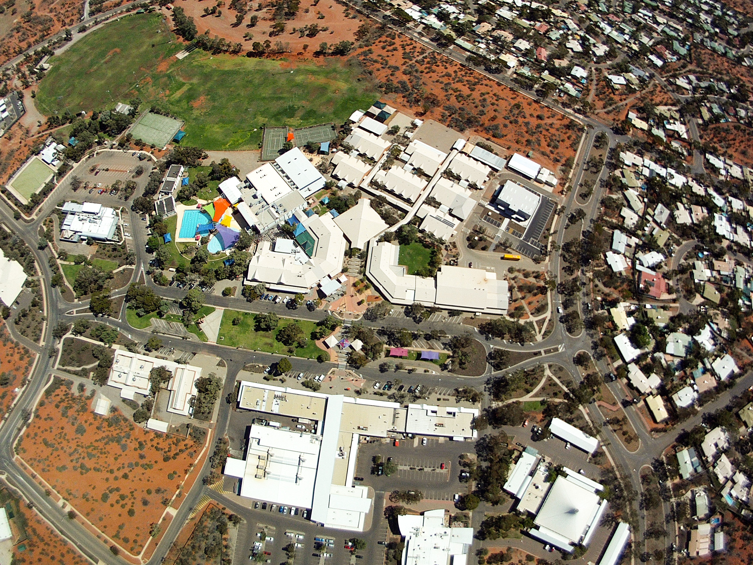 Aerial Photo birdseye Roxby Downs