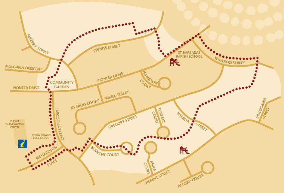 Emu Trail Map